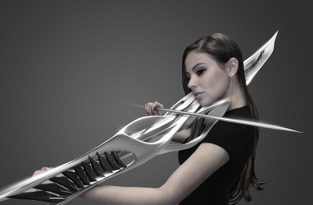 Despite its looks, this 3D printed violin (probably) won't kill you