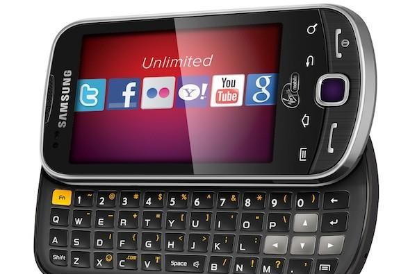 Virgin Mobile rolls out Android-based Samsung Intercept: $249 prepaid