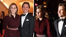 Princess Beatrice makes first official appearance with boyfriend Edoardo Mapelli Mozzi