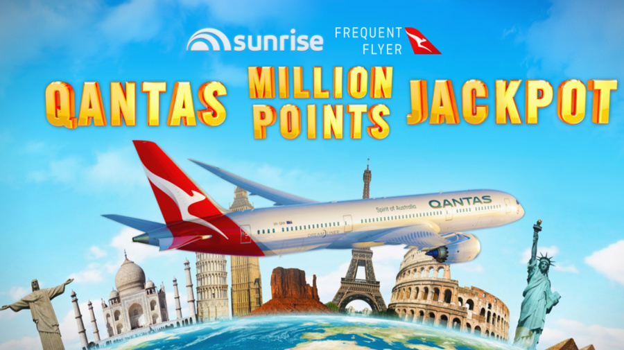 Win 1,000,000 Qantas Frequent Flyer Points!