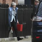May plans next move in Brexit fight as chances rise of delay