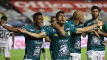 León lidera el Apertura mexicano; el uruguayo Rodríguez sigue de líder goleador