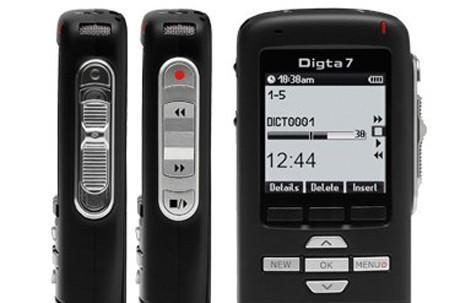 Grundig Digta 7 stakes claim as world's first Bluetooth dictation device, period, line break