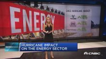 Hurricane impact on the energy sector