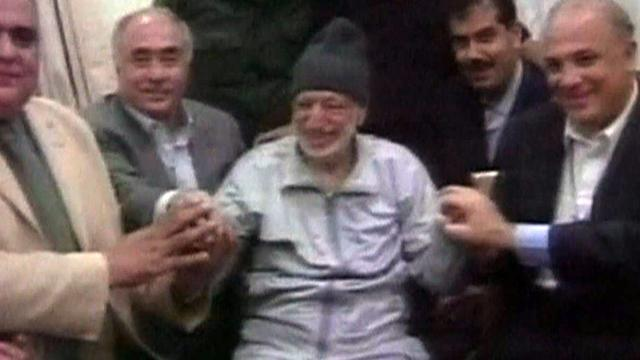 Swiss scientists claim Arafat was poisoned