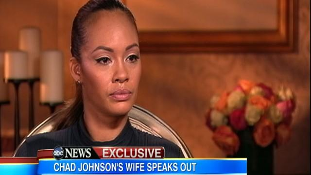 Ochocinco's Wife Discusses Star's Arrest, Head-Butt Charge