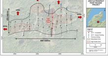 Anaconda intersects 3.63 g/t gold over 12.0 metres at the Argyle discovery - expands zone of mineralization down-dip and to the northeast