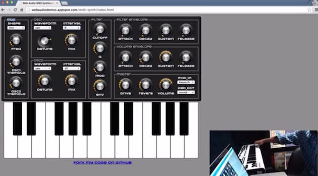 Chrome 43 Beta kommt mit MIDI Support für den Browser