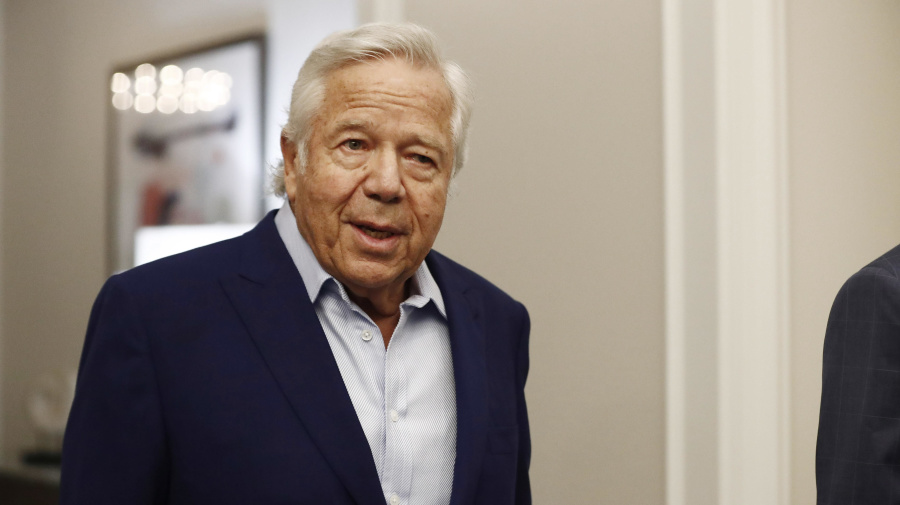 The NFL probably can't punish Robert Kraft now
