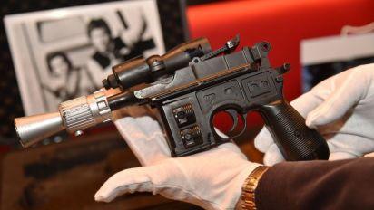 Han Solo's Jedi blaster gun sells for £415,000