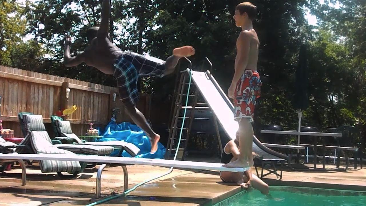 cool off with these u0027afv u0027 diving board fails video