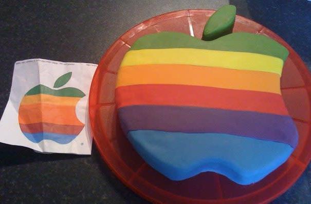 Taste the Apple rainbow