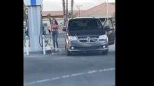 Woman goes viral for making multiple turns to pump gas in her car: 'Nope, she had it'