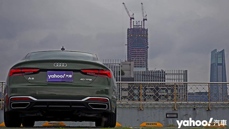 捉艷疾走!2021 Audi A5 Sportback 40 TFSI S line小改款試駕 - 5