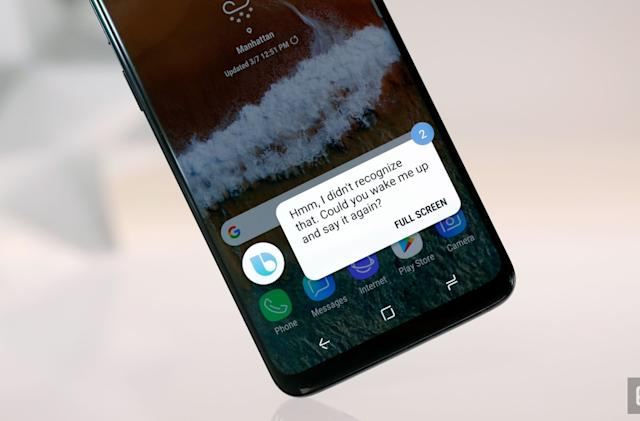 You can now remap the Bixby button on older Galaxy phones