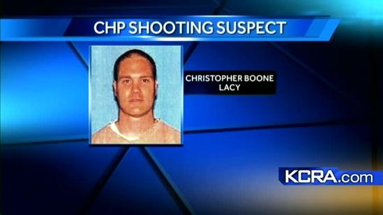CHP officer shot by suspect now on life support