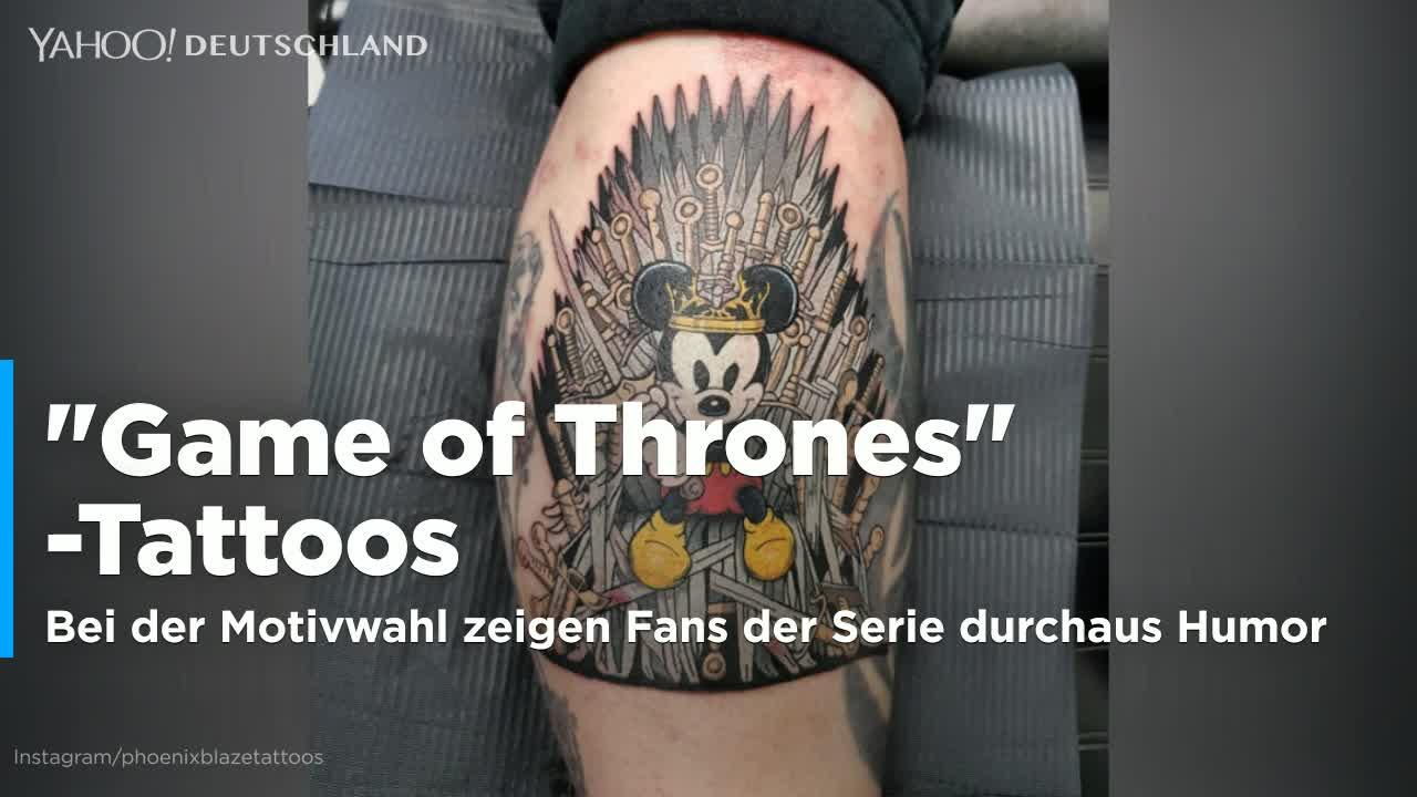 die besten game of thrones tattoos video. Black Bedroom Furniture Sets. Home Design Ideas
