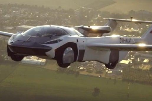 Flying sports car: the pilot on driving science fiction into reality