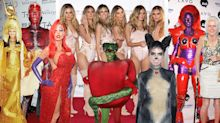 All of Heidi Klum's Halloween costumes ahead of 2019 reveal
