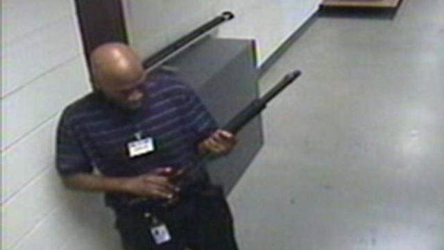 Navy Yard Shooter Caught on Tape Before Rampage
