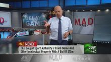 Cramer explains how Sports Authority's bankruptcy cast a ...