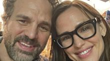 Jennifer Garner and Mark Ruffalo Reunite on Set of Their New Film: 'Reconnecting with an Old Pal'