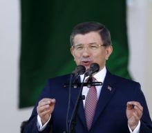 Former Turkish PM Davutoglu sharply criticizes Erdogan's AK Party