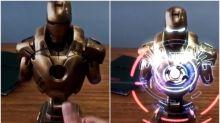 【有片】真定假呢?超有型Iron Man胸像投影、CG還是AR?