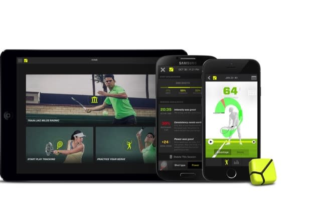 Zepp upgrades its tennis game with a beefed-up app
