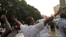 Celebrations Erupt Outside Zimbabwe Parliament Building as Mugabe Resigns