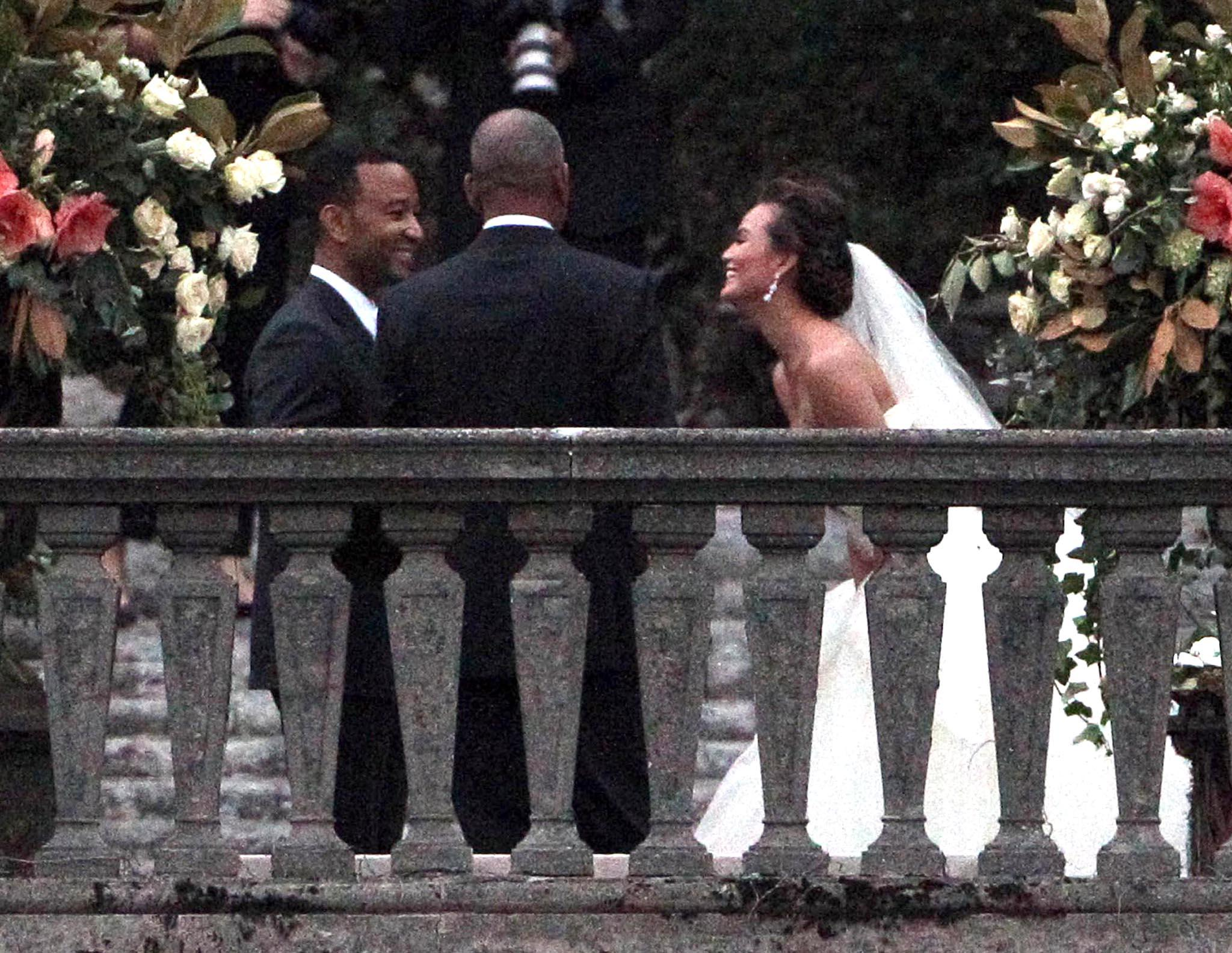 John Legend And Chrissy Teigen Marry In Italy