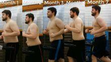 'Running Man' films dramatic treadmill weight-loss