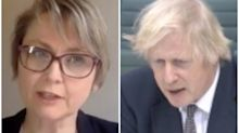 Boris Johnson admits 'concern' over people entering UK from France in heated exchange over COVID variants