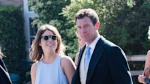 Bride-to-be Princess Eugenie rocks cut-out dress and $85 sunglasses