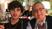 """Filho de Galvão Bueno quer fama em Hollywood: """"Filme sobre meu pai está nos planos"""""""
