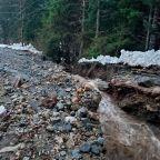Six missing after Alaska landslides