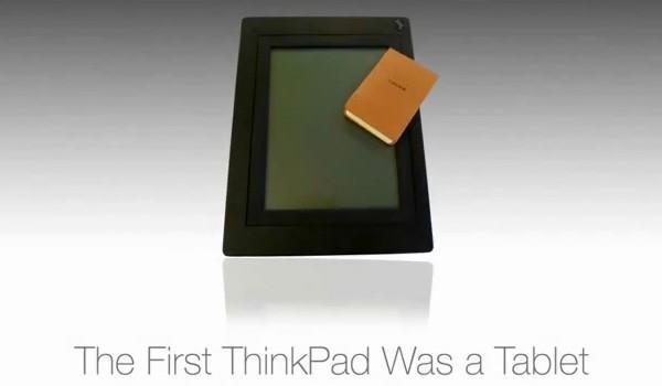 Lenovo educates us on the history of the tablet, has 'exciting products to announce this month'