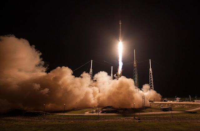 Watch SpaceX try its second ground landing (update: success!)