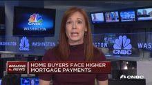 Rising rates hitting homebuilder stocks