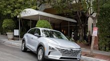 Behind the wheel of Hyundai's Nexo Fuel Cell EV