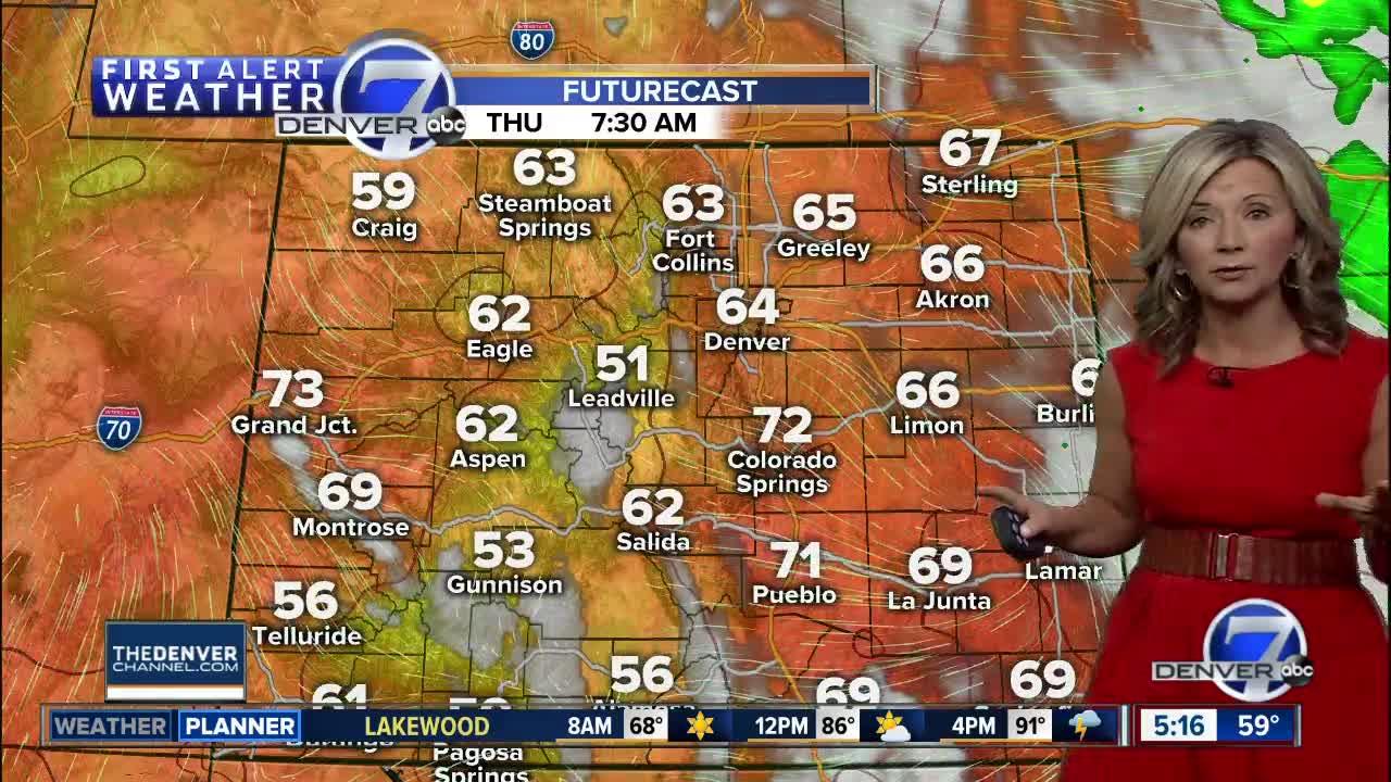 Thursday morning weather forecast