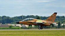 Leonardo: primo volo M-346 Fighter Attack col radar Grifo