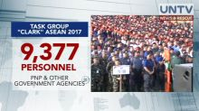 9,000 cops, soldiers, gov't personnel  deployed to Clark City, Pampanga for ASEAN Defense Ministers' Meeting
