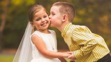 5-year-old who underwent 3 open heart surgeries gets dream wedding photo shoot
