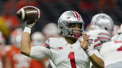 Projected top-5 pick Fields entering NFL draft