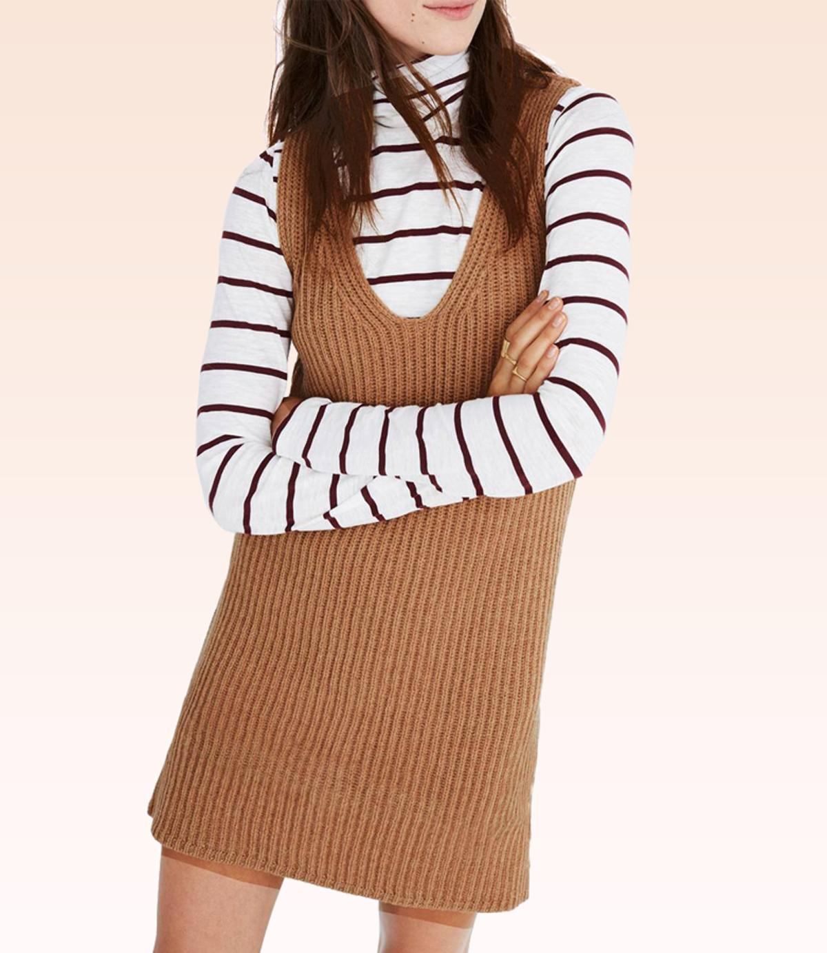 11 Sweater Dresses To Wear With Your Knee-High Boots