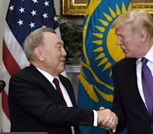 Trump's meeting with Kazakhstan president raises questions about human rights and business ties