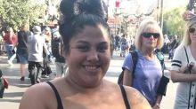 Mum shamed for breastfeeding at Disneyland hits back