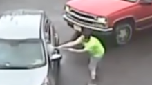 Philadelphia Police Looking for Man Who Attacked Car, Passenger With Sledgehammer