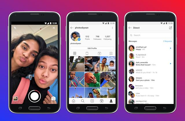 Instagram Lite reboot squeezes the app into a 2MB package